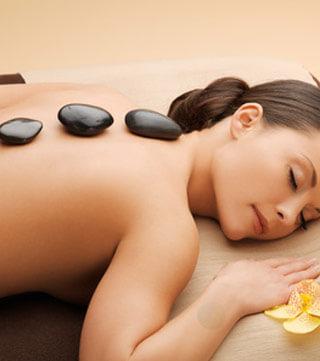 Massage aux pierres chaudes à Anjou, Montréal